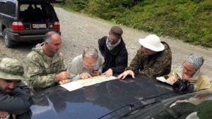 Обследование территории Южной Осетии